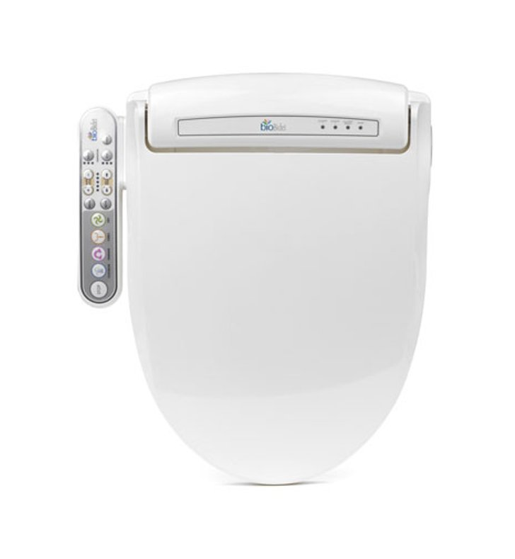 BioBidet BB-800 Prestige Luxury Class Bidet Toilet Seat with Side Control Panel