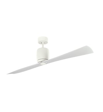 "Kichler 300160SNW Ferron 60"" Indoor Ceiling Fan with 2 Blades with Cool-Touch Remote and Downrod"