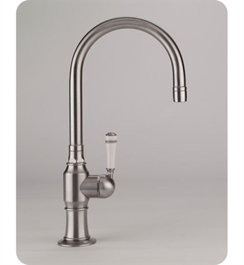 Jaclo 1073-MC-PSS Steam Valve Single Lever Kitchen Faucet With Finish: Polished Stainless Steel And Handles: Metal Contemporary Lever Handles