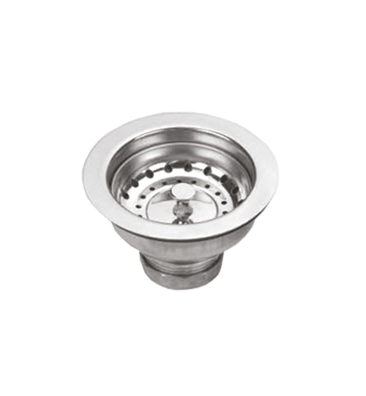 Whitehaus NRNW35B Basket Strainer with Lift Stopper