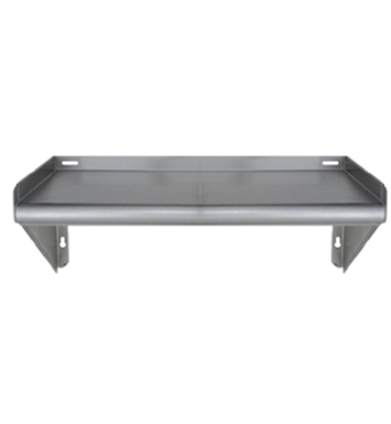 Whitehaus CUWSKD60 Culinary Equipment Knock Down Stainless Steel Wall Mount Shelf