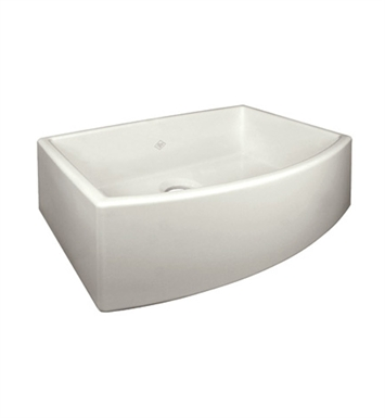 Rohl RC3021BS Shaws Apron Front Fireclay Kitchen Sink in Biscuit