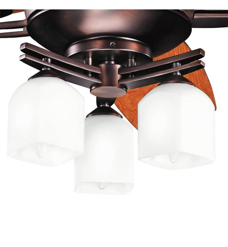 Kichler 380062OBB Brinbourne 3 Light Fan Light Kit