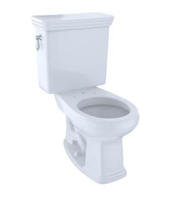 TOTO CST423SF#11 Promenade Two-Piece Round Toilet with 1.6 GPF Single Flush With Finish: Colonial White