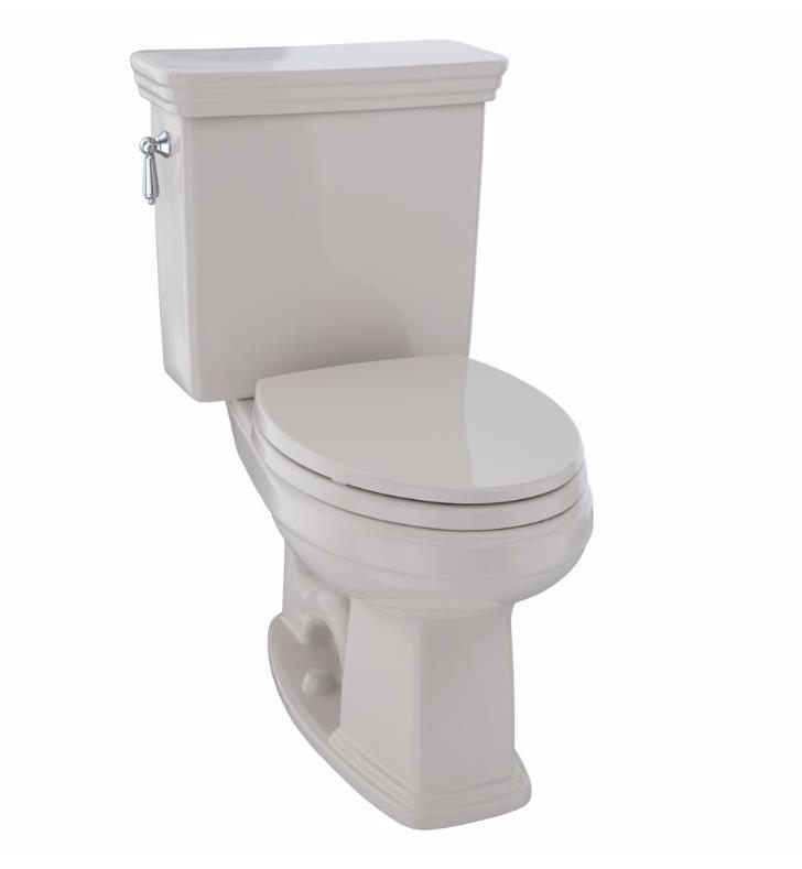 Toto Cst424ef Eco Promenade Two Piece Elongated Toilet