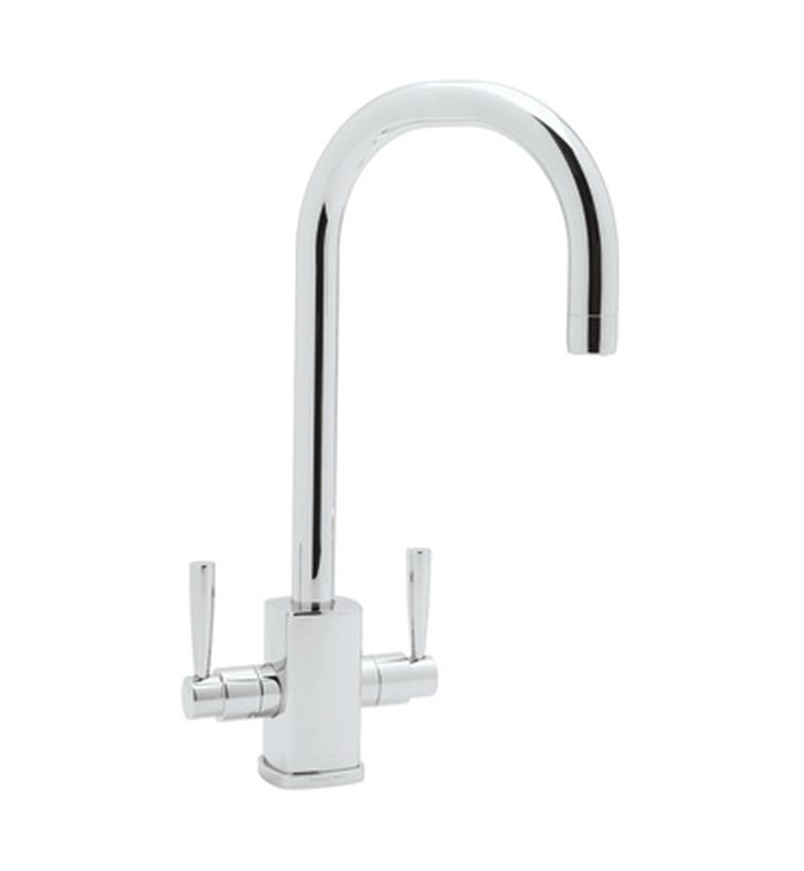 Rohl U-4209 Contemporary Single Hole Bar Faucet With Square Body And ...