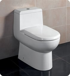 Fresca FTL2351 Antila One Piece Dual Flush Toilet with Soft Close Seat