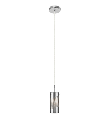 Elan Lighting 83158 Huia™ Mini Pendant in Chrome Finish