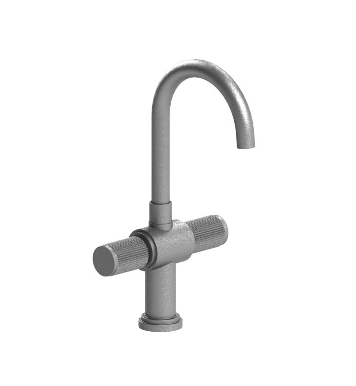 Rubinet 8PHORPNPN H2O Dual Handle Bar Faucet With Finish: Main Finish: Polished Nickel | Accent Finish: Polished Nickel