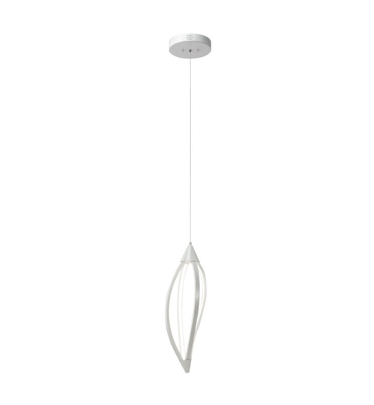 Elan Lighting 83360 Meridian™ Pendant in White Finish