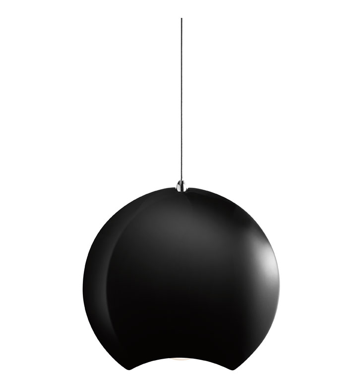 Elan Lighting 83313 Minn™ Pendant in Chrome and Black Finish