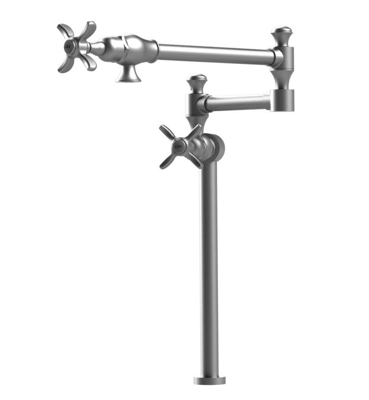 Rubinet 8HRVC Raven Deck Mount Pot Filler
