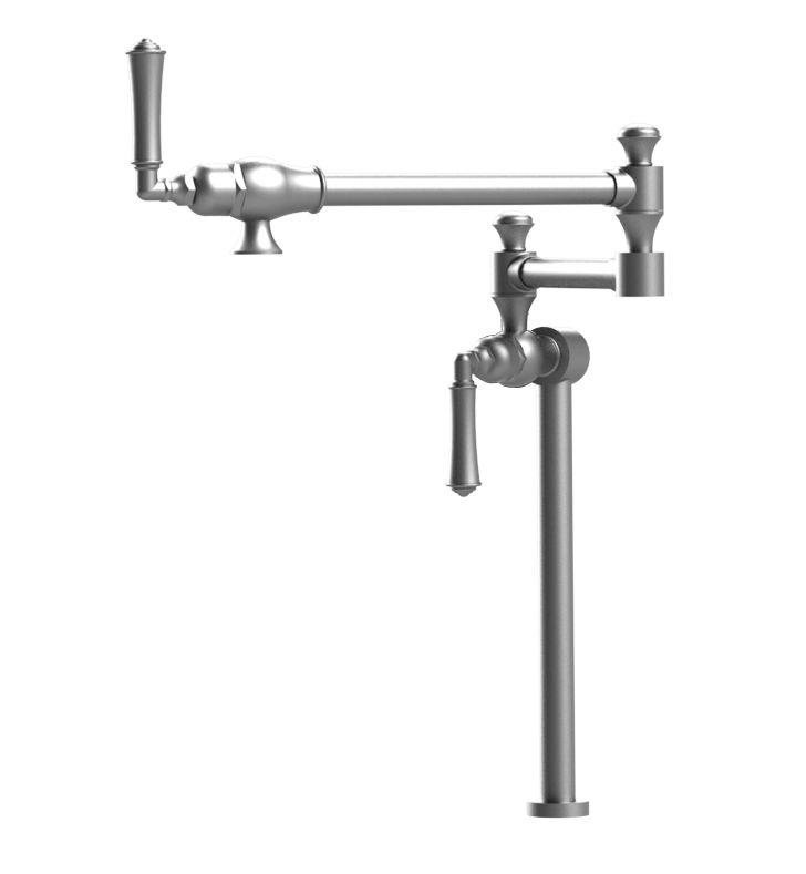 Rubinet 8HRVL Raven Deck Mount Pot Filler