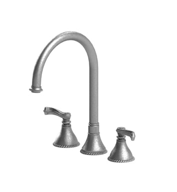 Rubinet 8AETLCHGD Etruscan Widespread Kitchen Faucet With Finish: Main Finish: Chrome | Accent Finish: Gold