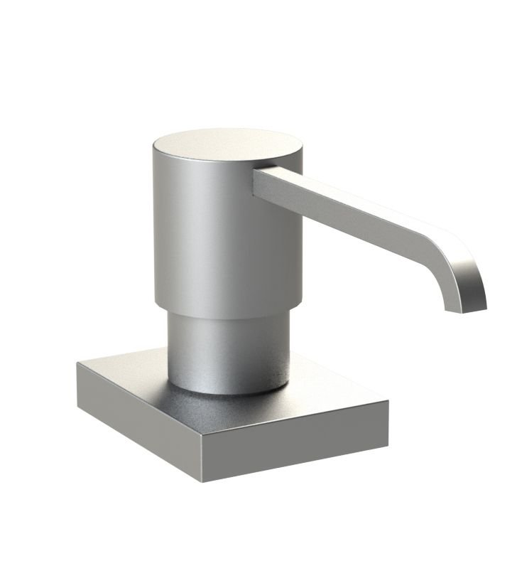 Rubinet 9YSD5WH R10 Brass Soap/Lotion Dispenser With Finish: White