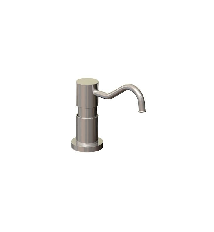 Rubinet 9YSD2SN H2O Brass Soap/Lotion Dispenser With Finish: Satin Nickel