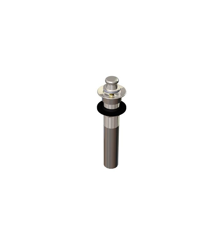 Rubinet 9DPU7OB Exposed Lift & Turn Drain without Overflow With Finish: Oil Rubbed Bronze