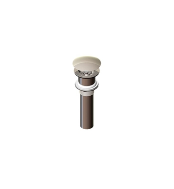 Rubinet 9DPU14SC Exposed Push-Up Drain without Overflow With Finish: Satin Chrome