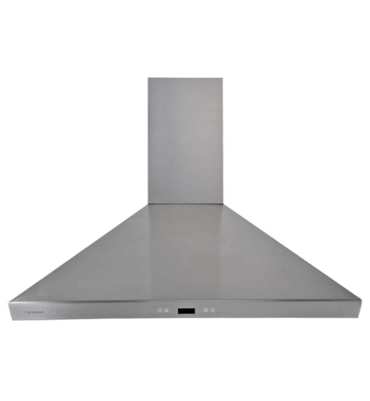 "Cavaliere SV218F-36 218 Series 36"" Wall Mount Stainless Steel and Glass Range Hood"