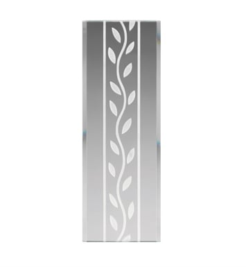 Kichler 4084 Modern Leaf Pattern Stocked Glass Panel