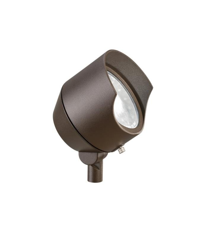 Kichler 15381AZT6 1 Light 12V Landscape 6 Pack Accent Light in Textured Architectural Bronze