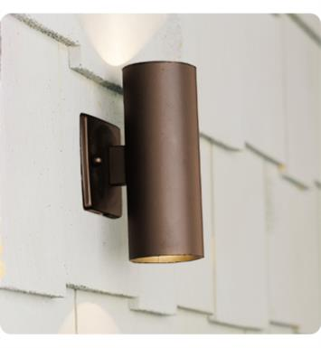 Kichler 15079AZT 2 Light 12V Landscape Up/Down Accent Light in Textured Architectural Bronze