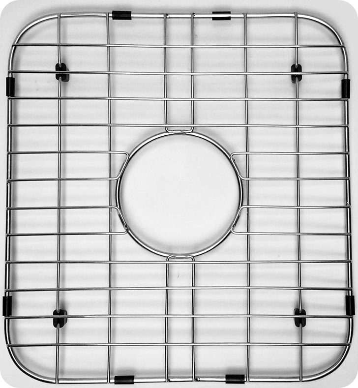 ALFI Brand GR3318 Solid Stainless Steel Kitchen Sink Grid