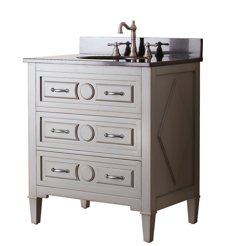 "Avanity KELLY-V30-GB Kelly 30"" Bathroom Vanity in Grayish Blue finish"