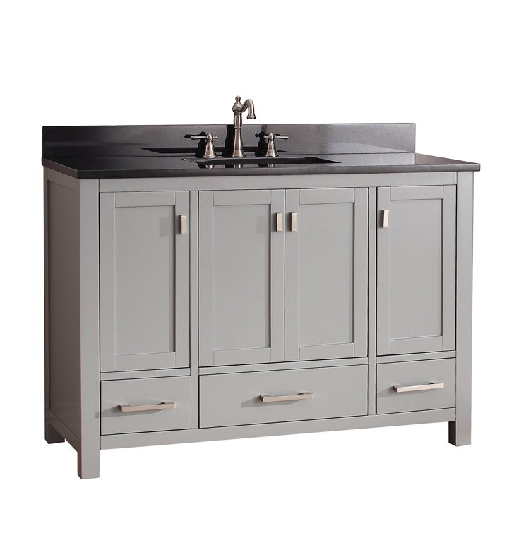 "Avanity MODERO-V48-CG Modero 48"" Bathroom Vanity in Chilled Gray finish"