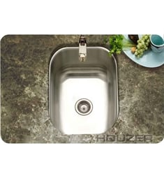 Houzer CS-1307-1 Undermount Single Basin Bar Sink
