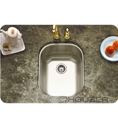 Houzer CS-1407-1 Club Undermount Medium Bar/Prep Sink