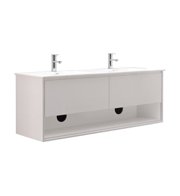 "Avanity SONOMA-V63-WT Sonoma 63"" Double Sink Bathroom Vanity in White finish"