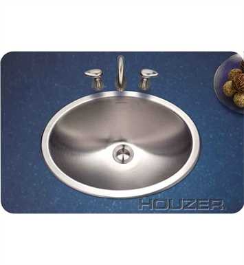 Houzer CHT-1800-1 Self Rimming Oval Bathroom Sink