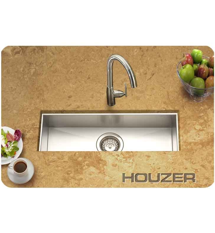 Houzer CTB-2385 Undermount Single Basin Bar Sink