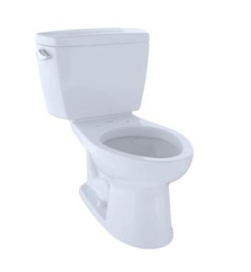 TOTO CST744EL#12 Eco Drake Two-Piece Elongated Toilet with 1.28 GPF Single Flush With Finish: Sedona Beige