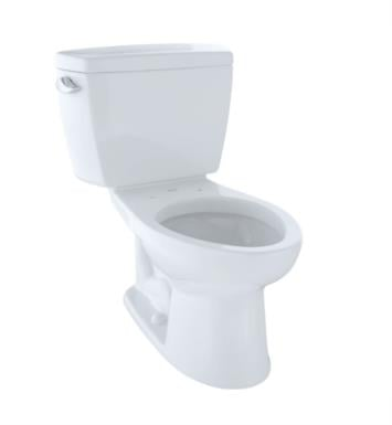 TOTO CST744SD#03 Drake Two-Piece Elongated Toilet with 1.6 GPF Single Flush and Insulated Tank With Finish: Bone