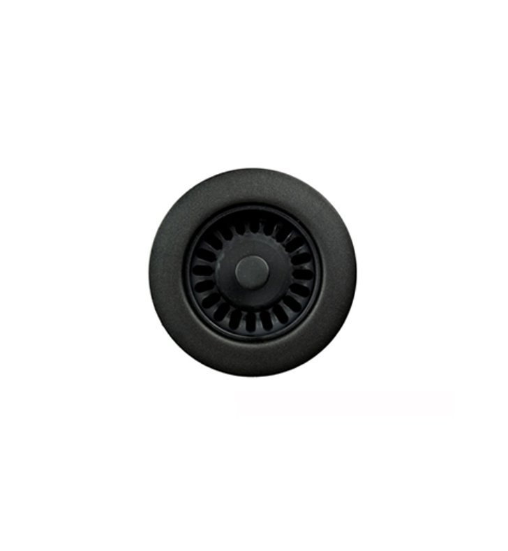 Houzer 190-9265 Preferra Basket Strainer in Matte Black