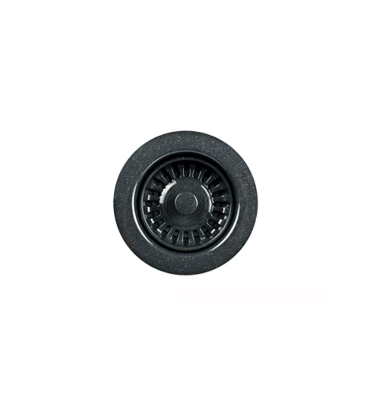 Houzer 190-9268 Preferra Basket Strainer in Granite Black
