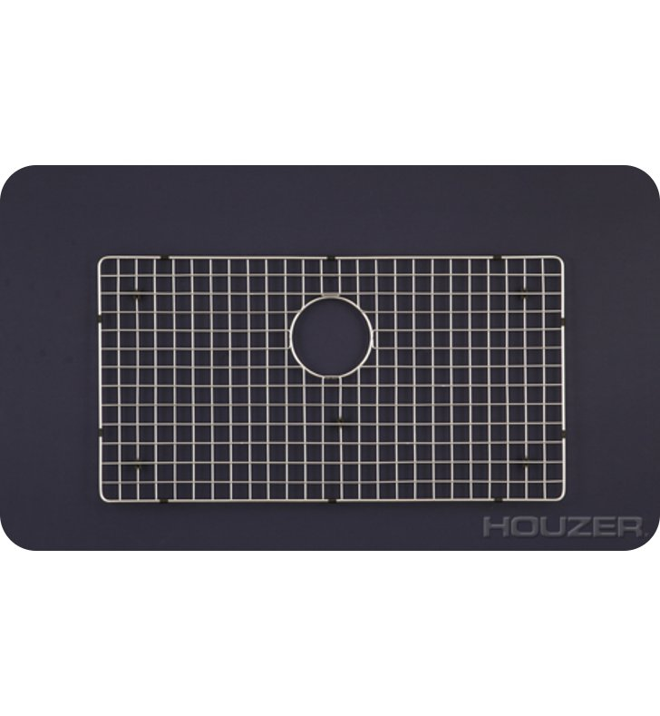 Houzer BG-4650 Rectangular Stainless Steel Sink Rack from the WireCraft Series