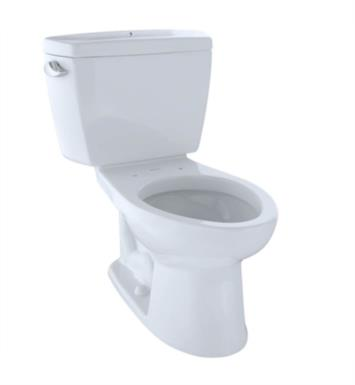 TOTO CST744SLB Drake Two-Piece Elongated Toilet with 1.6 GPF Single Flush and Boltdown Tank Lid