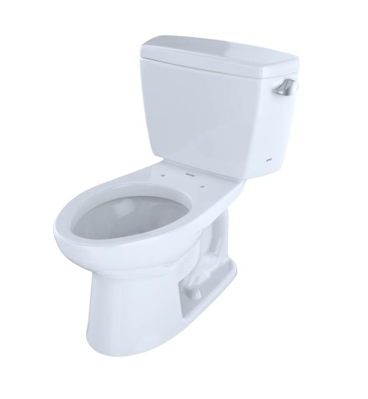 TOTO CST744SR#12 Drake Two-Piece Elongated Toilet with 1 6