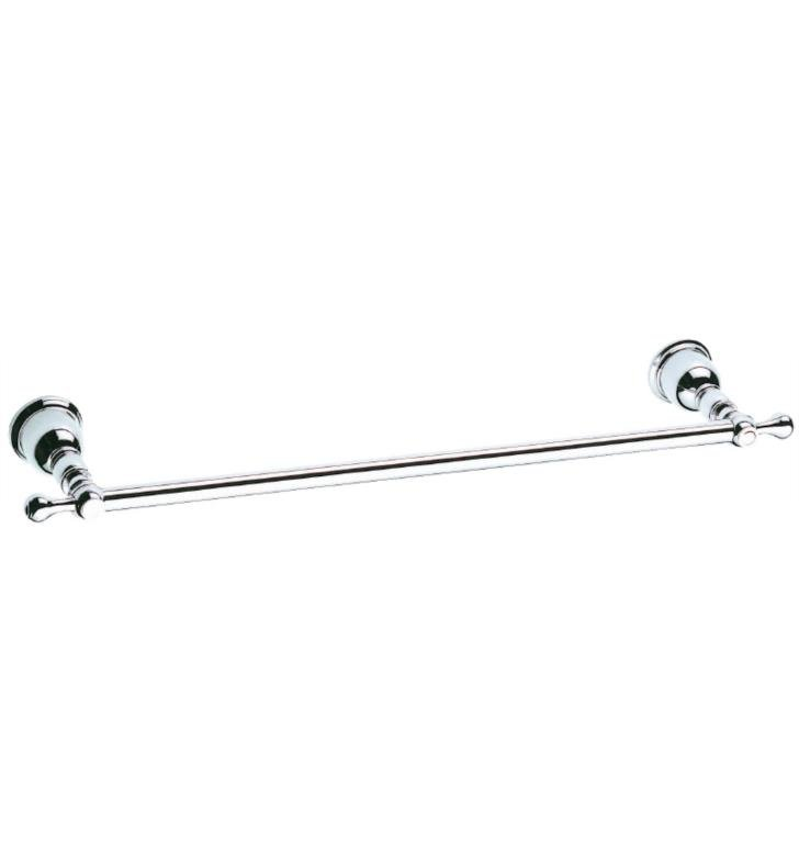 "Danze D443411BN Opulence 21"" Wall Mount Single Towel Bar With Finish: Brushed Nickel"