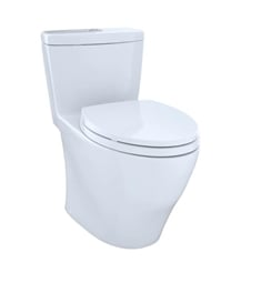 TOTO MS654114MF Aquia One-Piece Elongated Bowl with SoftClose Seat and 1.6 GPF & 0.9 GPF Dual Flush
