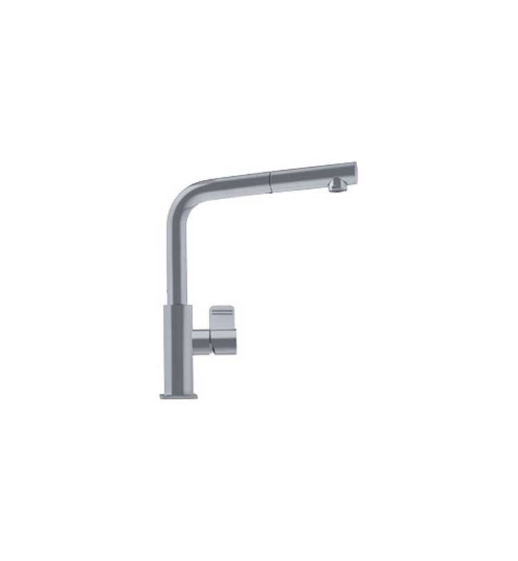 Franke FFPS1180 Satin Nickel Pullout Spray Kitchen Faucet