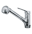 "Franke Home FFPS200 Vesta 7 1/2"" Single Hole Deck Mounted Pullout Kitchen Faucet from Home Collection"
