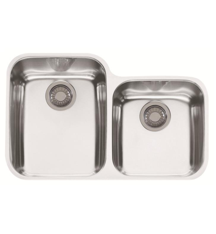 "Franke ARX12030 Artisan 29 7/8"" Double Basin Undermount Stainless Steel Kitchen Sink"
