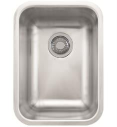 "Franke GDX11012 Grande 13 3/4"" Single Basin Undermount Stainless Steel Kitchen Sink"