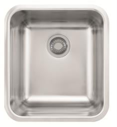 "Franke GDX11018 Grande 19 3/4"" Single Basin Undermount Stainless Steel Kitchen Sink"