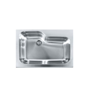 "Franke MHX-ORX110 Manor House 33"" Single Bowl Drop-In Stainless Steel Kitchen Sink"