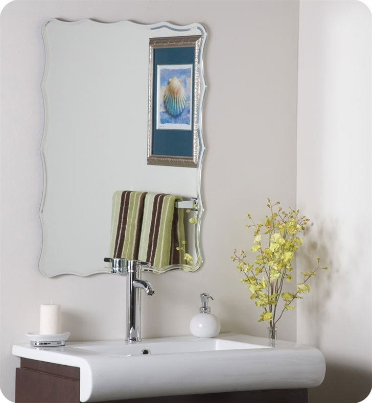 Decor Wonderland SSM1058 Liana Frameless Wall Mirror